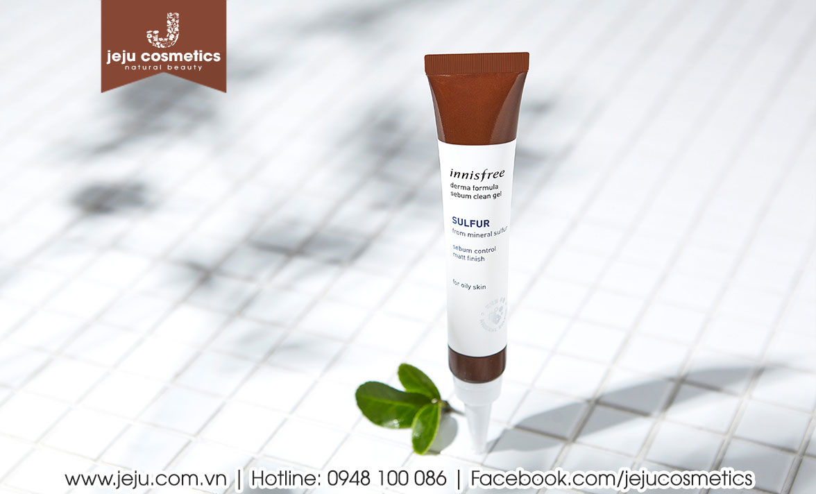 Innisfree Derma Formula Sebum Clean Gel